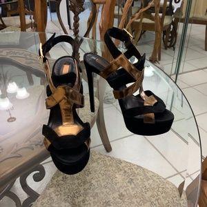 Schutz high platform heels